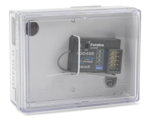 Futaba 7680 R304SB 2.4GHz T-FHSS 4-Channel Telemetry Enabled Receiver (4PLS)