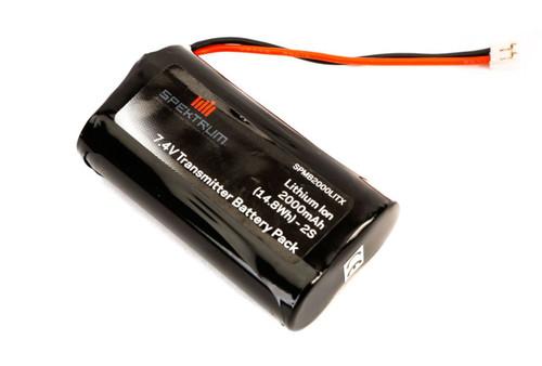 Spektrum 2000mAh Transmitter Battery: DX9, DX7S, DX8