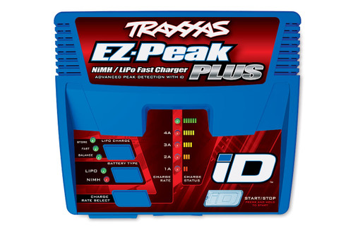 Traxxas 2970 EZ-Peak Plus Multi-Chemistry Battery Charger w/Auto iD