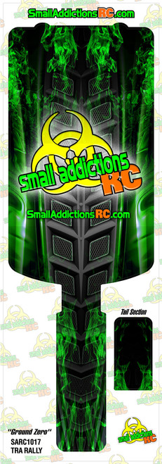 "Small Addictions RC (Traxxas Rally) ""Ground Zero"" Chassis Protector"