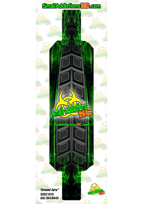 "Small Addictions RC (ASC B64/B6D) ""Ground Zero"" Chassis Protector"