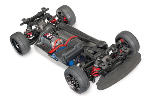 Traxxas 4-Tec 2.0 1/10 Brushed RTR Touring Car Chassis (NO Body) w/ TQ 2.4 GHz Radio