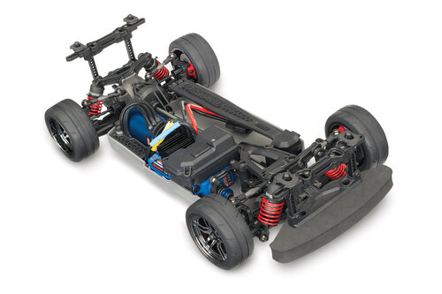 Traxxas 4-Tec 2.0 1/10 Brushless RTR Touring Car Chassis (NO Body) w/ TQi 2.4GHz Radio and TSM