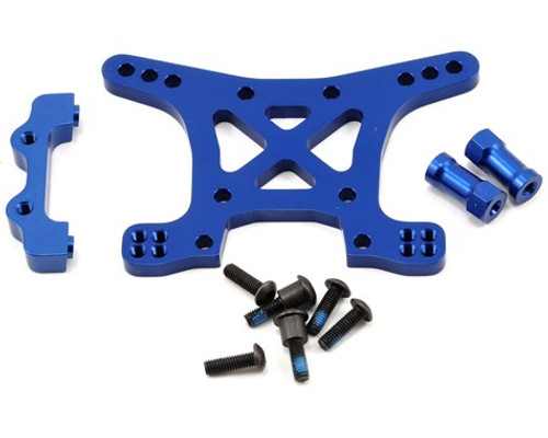Traxxas Aluminum Front Shock Tower (Blue) Rally; Slash 4x4; Stampede 4x4; Telluride