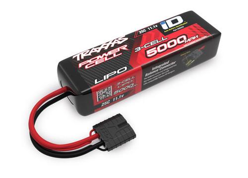 "Traxxas 3S ""Power Cell"" 25C LiPo Battery w/iD Traxxas Connector 11.1V/5000"