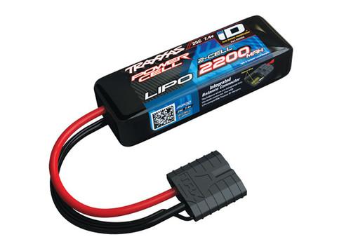 "Traxxas 2S ""Power Cell"" 25C LiPo Battery w/iD Traxxas Connector 7.4V/2200"