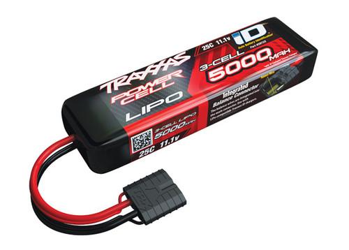 "Traxxas 3S ""Power Cell"" 25C LiPo Battery w/iD Traxxas Connector 11.1V/5000mAh"