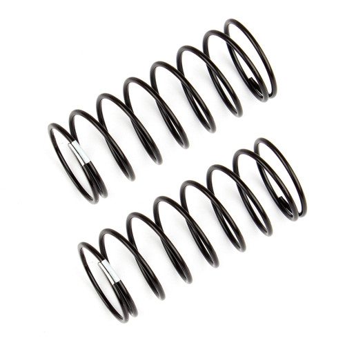 Team Associated 12mm Front Shock Spring (2) (White/3.40lbs) (44mm Long)
