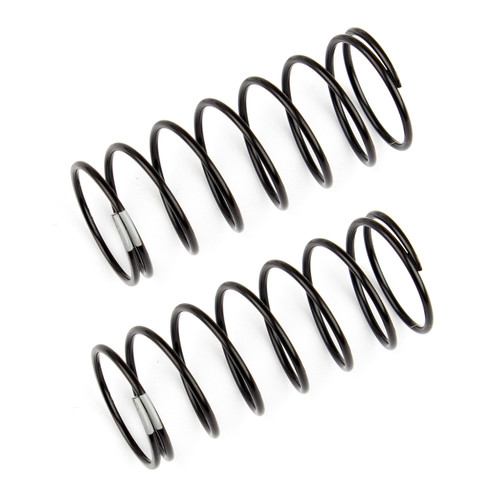Team Associated 12mm Front Shock Spring (2) (Gray/3.60lbs)