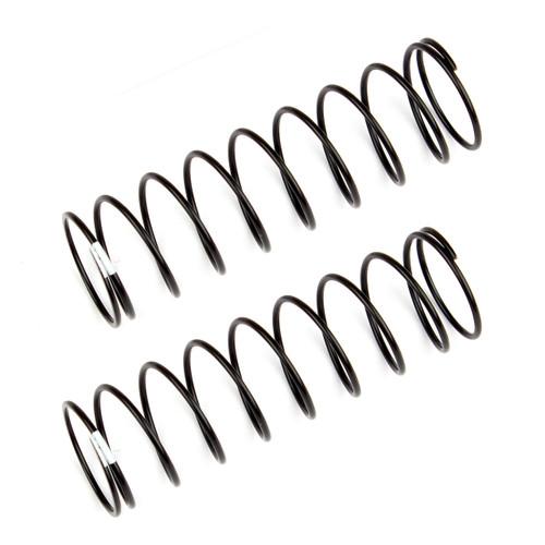 Team Associated 12mm Rear Shock Spring (2) (White/1.90lbs) (61mm Long)