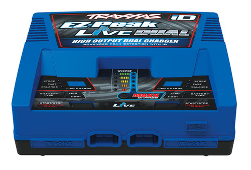 Traxxas EZ-Peak Live Multi- Chemistry Battery Charger w/Auto iD (4S/26/A/200W)