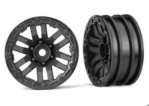 """Traxxas 12mm Hex TRX-4 1.9"""" Plastic Crawler Wheels (2)"""