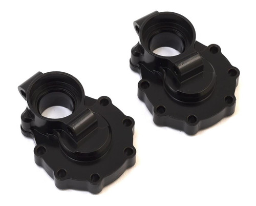 ST Racing Traxxas TRX-4 Machined Brass Front Axle Steering Knuckles (Black) (2)