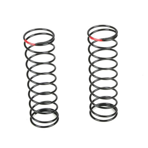 Team Losi Racing Rear Shock Spring Set (2.6 Rate/Red) (TLR 22)