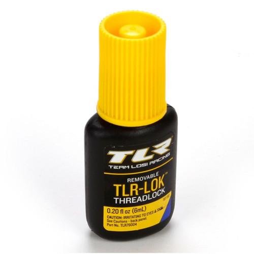Team Losi Racing 76004 TLR-LOK Threadlocker (Blue) (6mL)