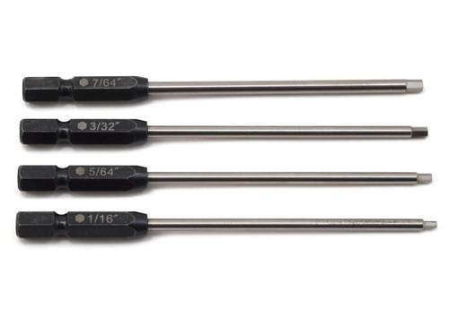 "ProTek RC 8244 TruTorque Standard Power Tool Tip Set (4) (1/16"", 5/64"", 3/32"", 7/64"")"