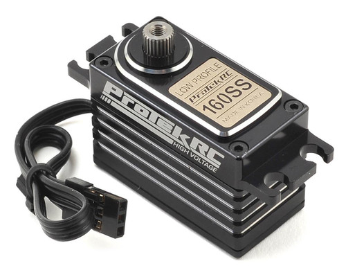 ProTek RC 160SS Low Profile Super Speed Metal Gear Servo High Voltage/Metal Case
