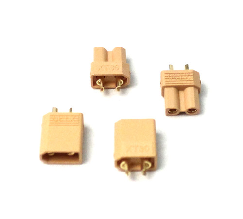Racers Edge 1635 XT30 Connectors (2 pairs)