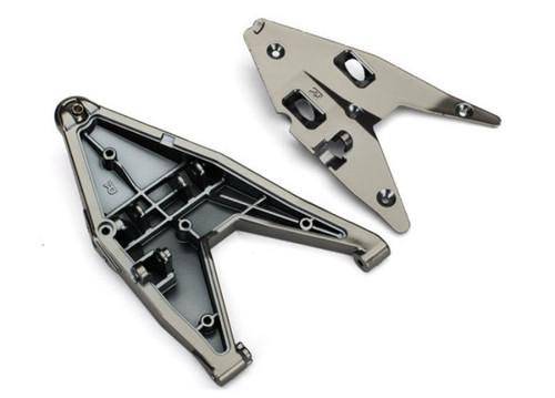 Traxxas 8532X Front Right Lower Suspension Arm, Satin Black Chrome, Desert Racer