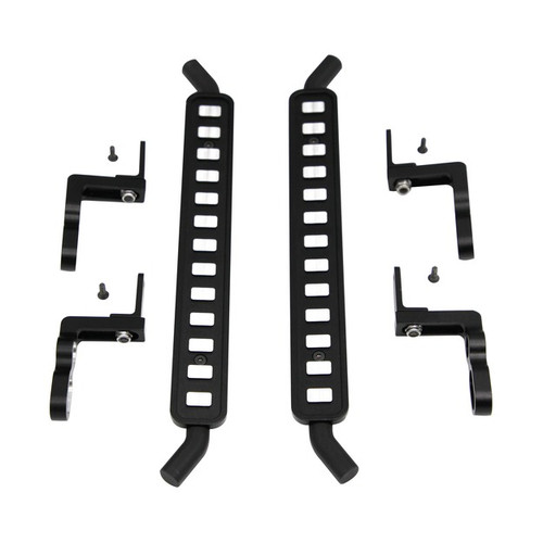 Hot Racing TRXF33FC01 Aluminum ICE Cube Style Rock Rail Side Step (2) - TRX-4