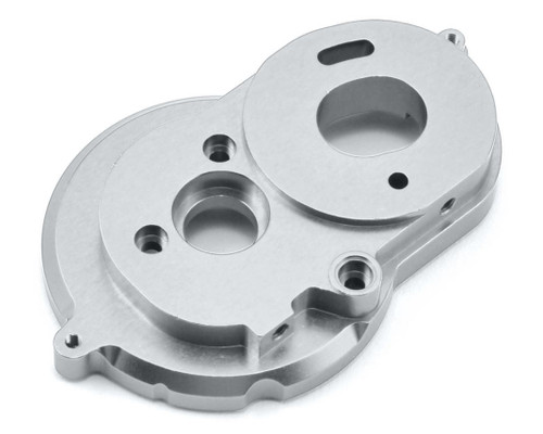 ST Racing Concepts 31377S SCX10 II Aluminum One Piece Motor Mount (Silver)