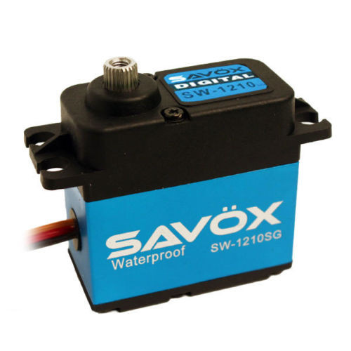 "Savox SW-1210SG ""Tall"" Waterproof Aluminum Case Digital Steel Gear Servo"
