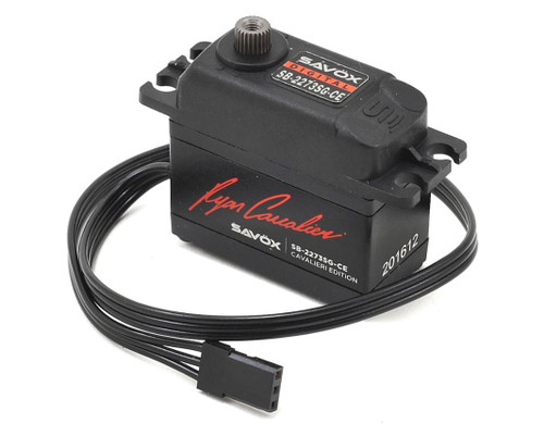 "Savox SB-2273SG-CE Ryan Cavalieri ""High Torque"" Brushless Servo (High Voltage)"