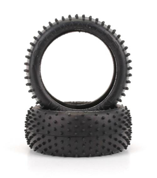 """Schumacher Racing U6748 """"Mini Spike"""" 3.2 1/8 Buggy Tires (2) (Yellow)"""