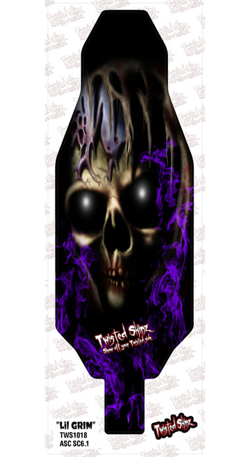 "Twisted Skinz 1018 ""Little Grim"" 9 mil Chassis Protector (SC6.1)"