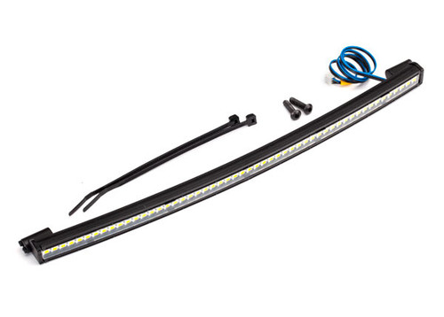 Traxxas 8488 Curved Roof Lights LED Light Bar 202mm, Desert Racer