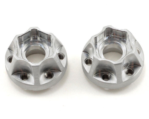 Vanquish Products SLW Hex Hub Set (Silver) (2) (475)