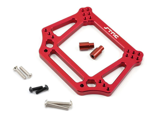 ST Racing ST3639R 6mm Heavy Duty Front Shock Tower (Red) Slash 2wd