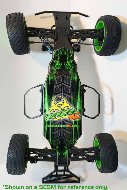 "Small Addictions RC 1014 ""Ground Zero"" Chassis Protector (TLR 22 4.0)"