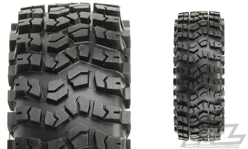 "Pro-Line 10112-00 Flat Iron XL 1.9"" Rock Crawler Tires w/Memory Foam (2) (G8)"