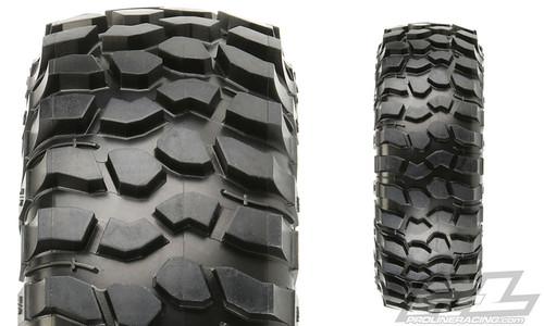 "Pro-Line 10136-14 BFGoodrich Krawler T/A KX 1.9"" Rock Crawler Tires (2) (G8) w/ Memory Foam"