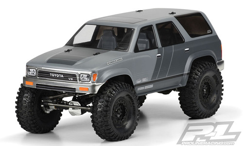 "Pro-Line 3481-00 1991 Toyota 4Runner 12.3"" Rock Crawler Body (Clear) (SCX10)"