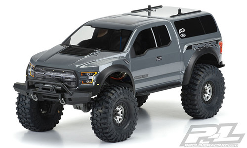 Pro-Line 3509-00 2017 Ford F-150 Raptor Body (Clear) (TRX-4)