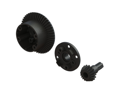 Arrma AR310802 Diff Case, 49T Main Gear/17T Input Gear Set