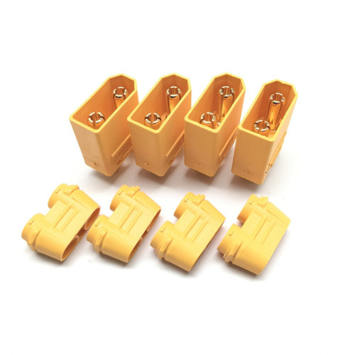 Maclan Racing 4113 XT90 Connectors (4) Male Only