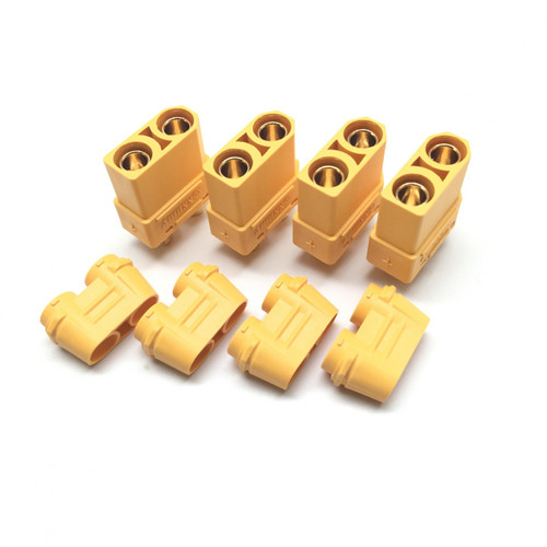 Maclan Racing 4114 XT90 Connectors (4) Female Only
