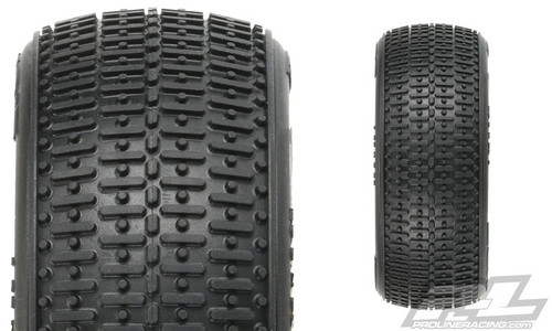 "Proline 8254-002 Transistor 2.2"" 4WD X2 (Medium) Off-Road Buggy Front Tires (2) w/ Closed Cell Foam"