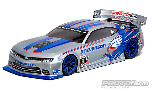 Protoform 1544-30 Chevy Camaro Z/28 Body (Clear) (190mm)