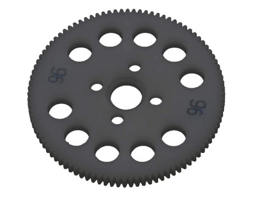 Schumacher Racing U3248 64P CNC Spur Gear (96T)