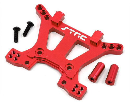 ST Racing ST6839R Aluminum HD Front Shock Tower (Red) (Slash 4x4)