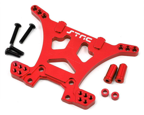 ST Racing ST6830R Aluminum HD Rear Shock Tower (Red) (Slash 4x4)