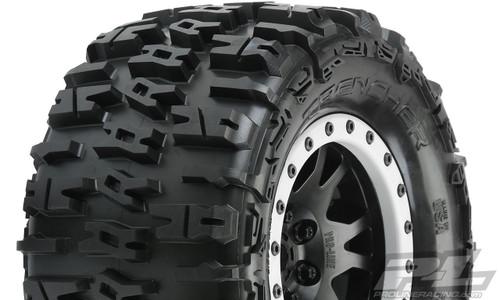 Pro-Line 10151-13 X-Maxx Trencher Pro-Loc Pre-Mounted All Terrain Tires (MX43)