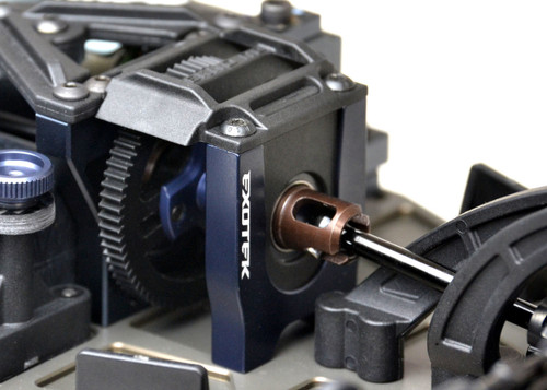 Exotek Racing 1809 EB410 Aluminum Center Differential Bulkhead