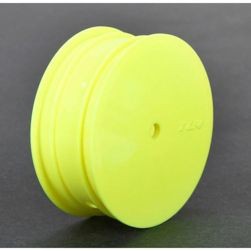 Team Losi Racing TLR43010 12mm Hex 22 3.0 Front 1/10 Buggy Wheels (2) (22 3.0) (Yellow)