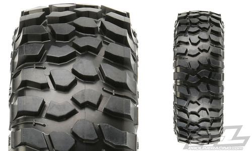 "Proline 10136-03 BF Goodrich Krawler T/A KX (Red Label) 1.9"" Predator Rock Terrain Truck Tires, Super Soft, (2pcs)"