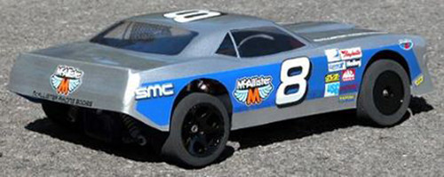 McAllister Racing #134 1/10 1970s Barracuda Street Stock Body w/ Decal